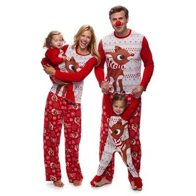 2019 Christmas Children's Family Pajamas  Size: 110(4-5years)