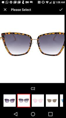 Unisex Square Sunglasses C2