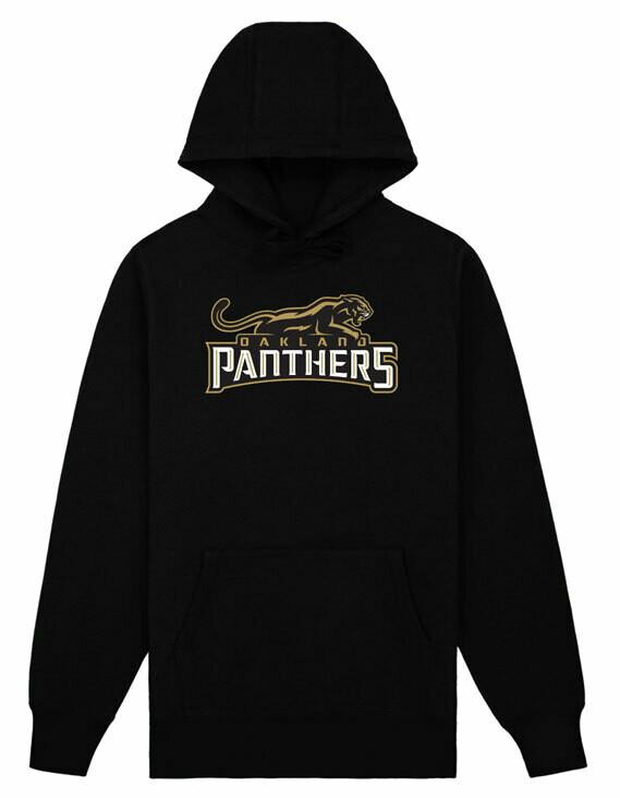 Oakland Panthers Logo Hoody