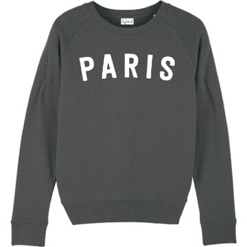 Lucy Dodwell Paris Sweatshirt - Charcoal
