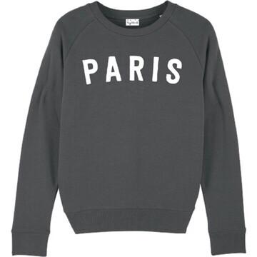 Lucy Dodwell Paris Sweatshirt - Charcoal
