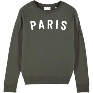 Lucy Dodwell Paris Sweatshirt - Khaki