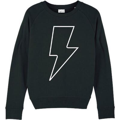 White Lightning Sweatshirt - Black