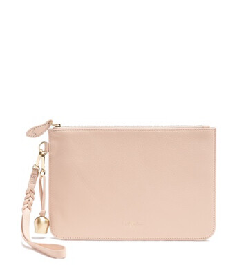 Bell & Fox MILA wristlet Clutch Pouch - Powder