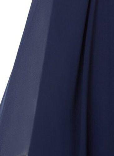 Stola / Schultertuch marine blau