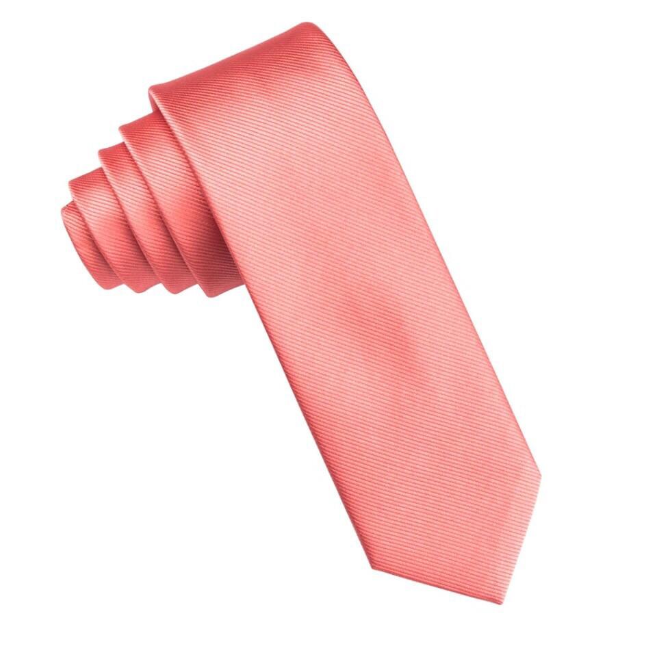 Krawatte schmal pfirsich