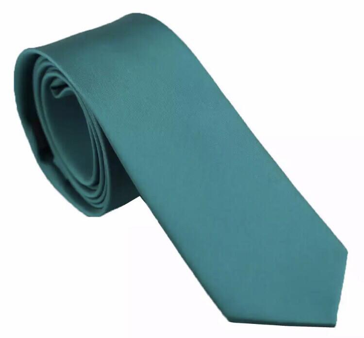 Krawatte schmal petrol