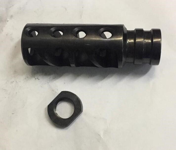 ДТК-пламегаситель Егерь (дульный тормоз компенсатор) 12 калибр