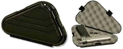 Кейс (бокс, футляр) пластиковый для пистолета средних размеров типа ПМ, WALTER PP PLANO (ПЛАНО) 1422-00