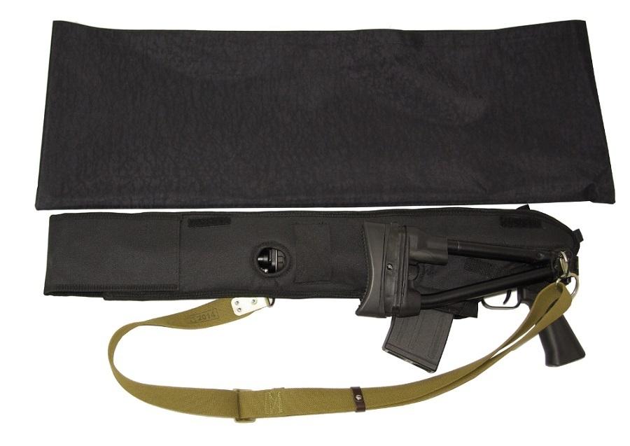 """Чехол и кожух для оружия с возможностью стрельбы """"ПУД"""" (для оружия со стволом 430 мм)"""