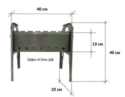 Мангал из стали 3 мм