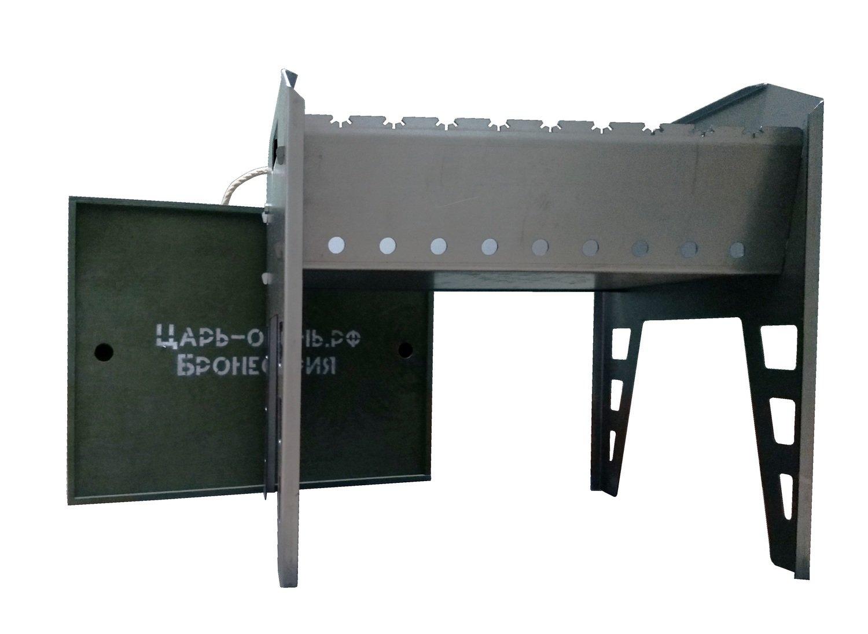 Складной мангал в чемодане
