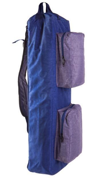 """Сумка-рюкзак для скрытого ношения оружия """"Гольфист"""" цвет сине-серый."""