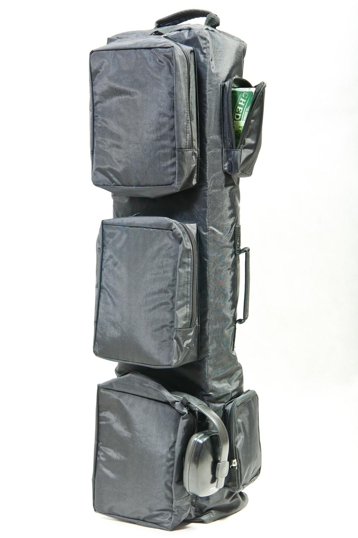"""Тактический однолямочный рюкзак для ношения оружия """"SILOVIKI 106"""". Чёрный."""