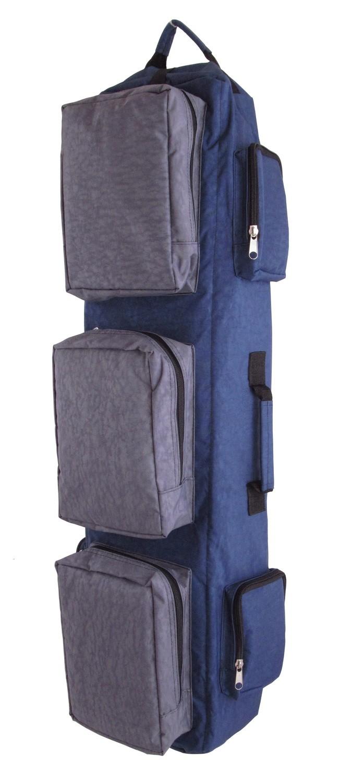 """Тактический однолямочный рюкзак для ношения оружия """"SILOVIKI 90"""". Сине-серый"""