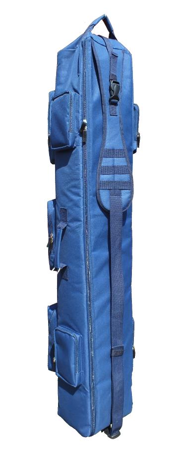"""Тактический однолямочный рюкзак для ношения оружия """"SILOVIKI 130"""". Синий."""