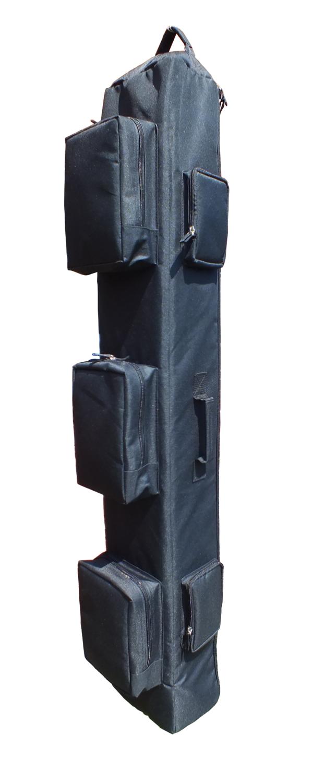 """Тактический однолямочный рюкзак для ношения оружия """"SILOVIKI 130"""". Чёрный."""