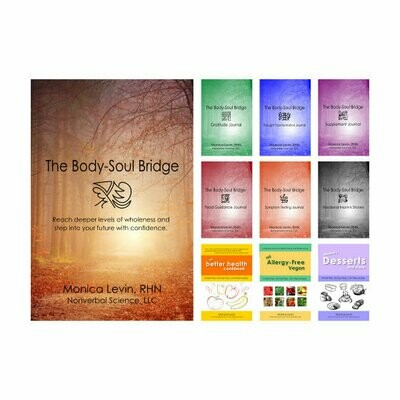 The Body-Soul Bridge & Journals & Recipe Book Set