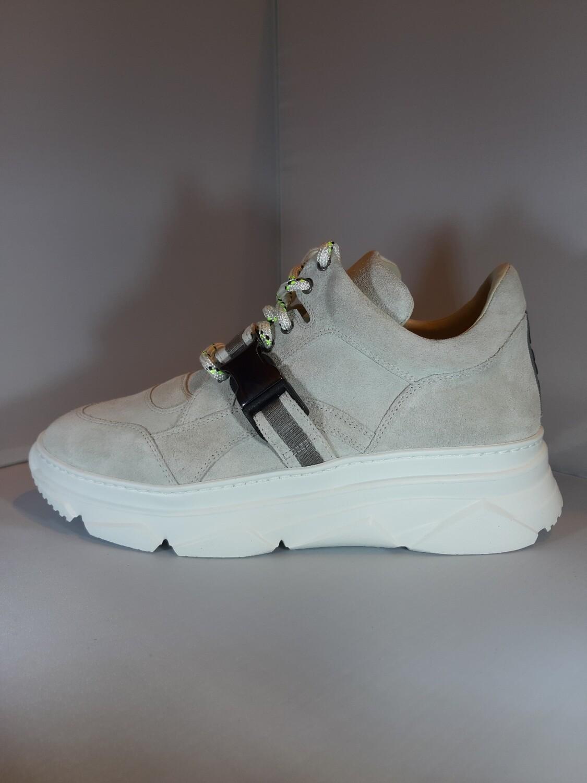 181 | Sneaker grijs daim