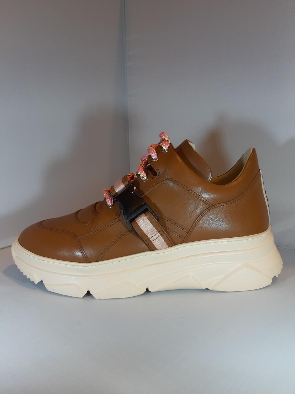 181 | Sneaker cognac leder