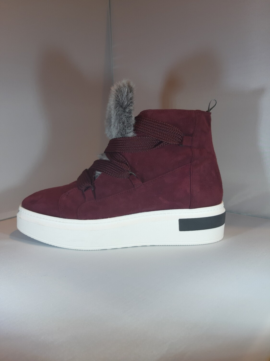 Cycleur de luxe | Botine bordeaux