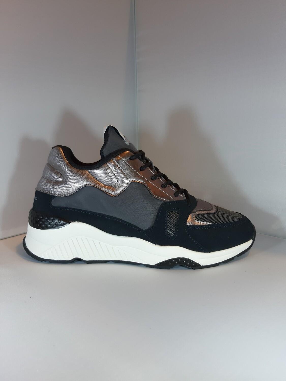 Pepe Jeans | Sneaker zilver grijs zwart