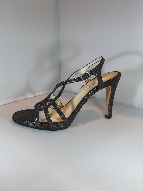 Lodi | Sandaal zwart