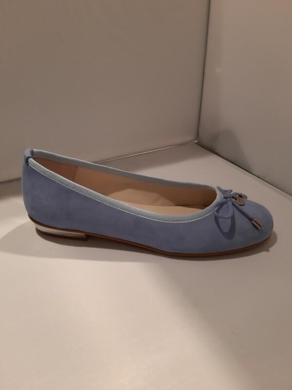 Catwalk | Ballerina Suede blauw