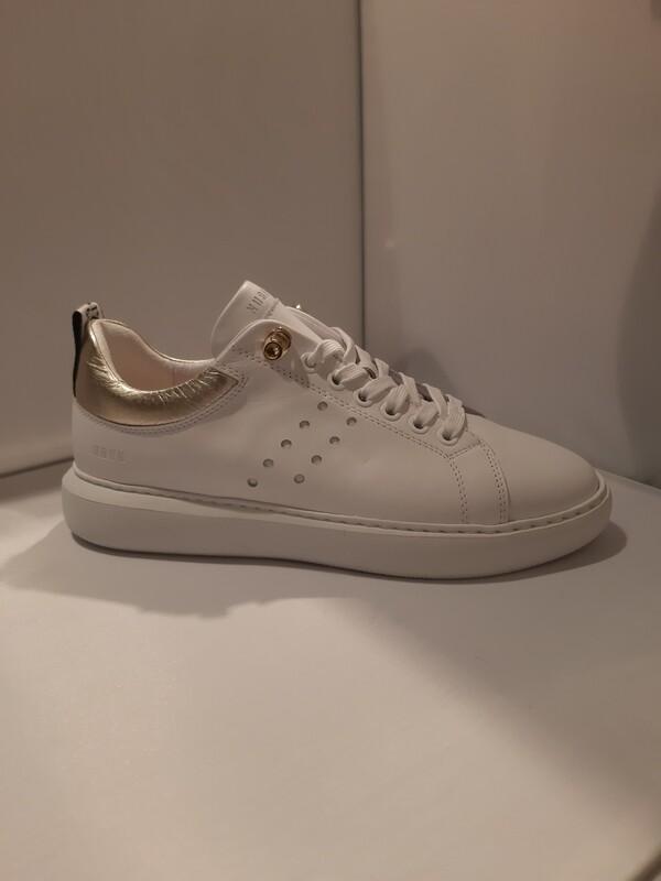 Nubikk | Sneaker wit met goud achter