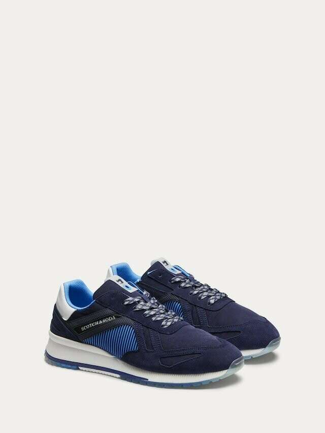 Scotch and soda / herensneaker blauw