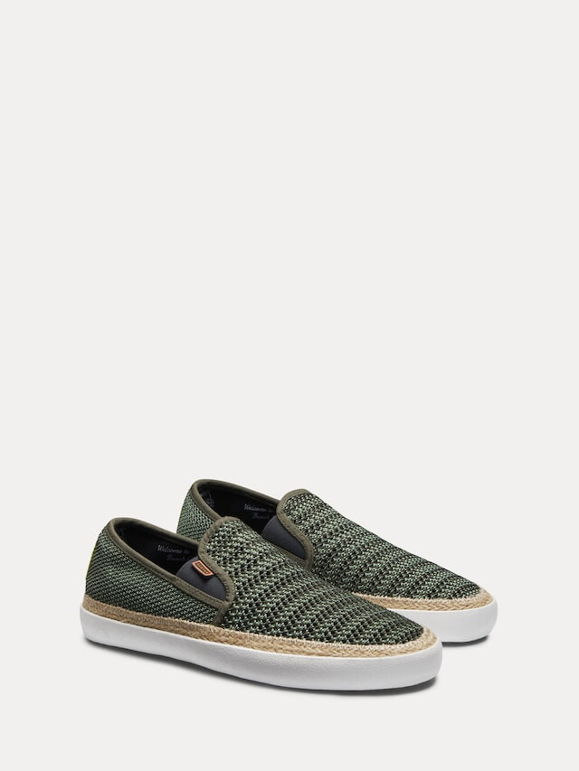 Scotch and Soda / herenloafers kaki