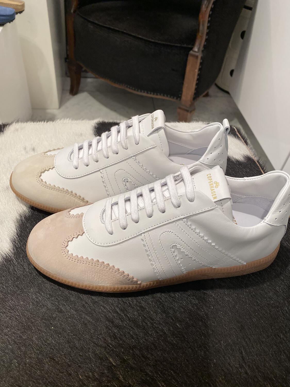 Copenhagen / sneaker wit/roze top