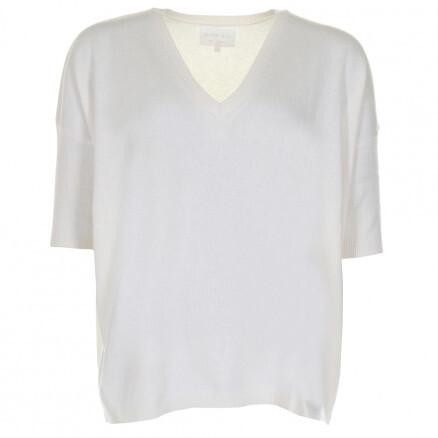 Tricot de Léa /pull cashmere beige