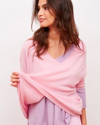 Tricot de Léa / pull cashmere roze