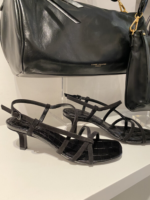 Kennel und Schmenger / sandaal naked zwart