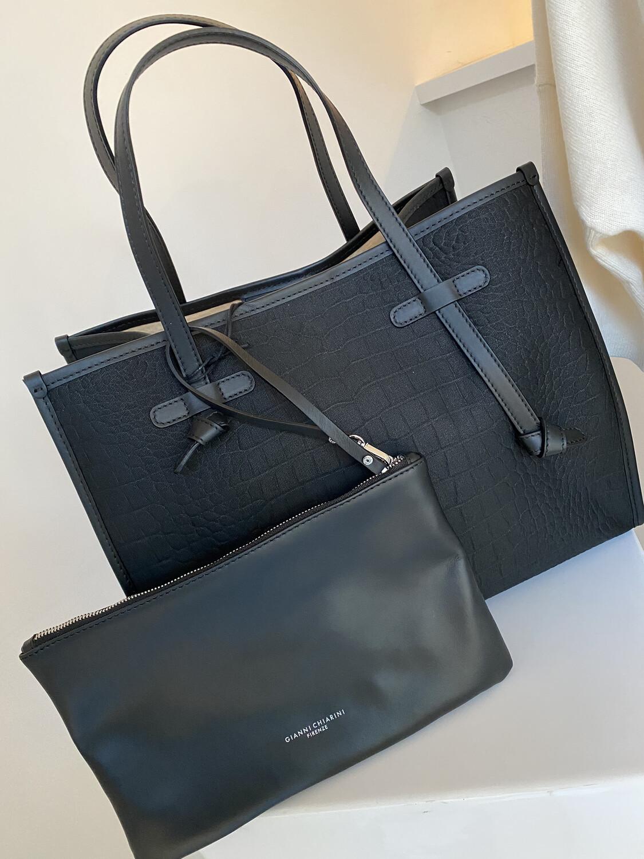 Gianni Chiarini / shopper bag zwart