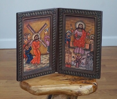 Ethiopian Coptic Orthodox Icon| Crucifixion Of Jesus Christ| Christianity Storytelling