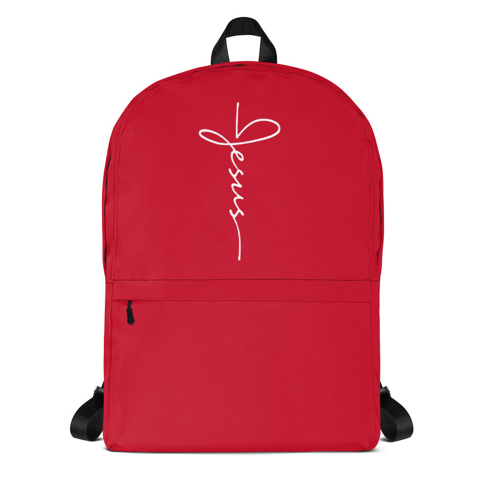 Jesus logo Backpack