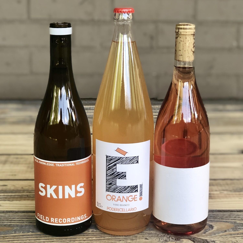 Rosé Social - Orange Wine: 3 Bottle Package