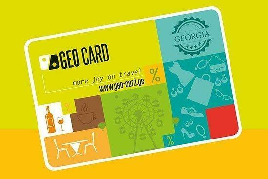 GEO CARD+Free Tbilisi Tourist Map