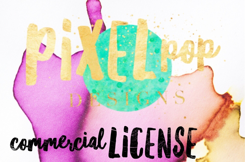 Pixel Pop Designs Commercial License