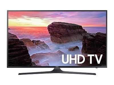 """Samsung 50"""" Class MU6300 4K UHD TV"""