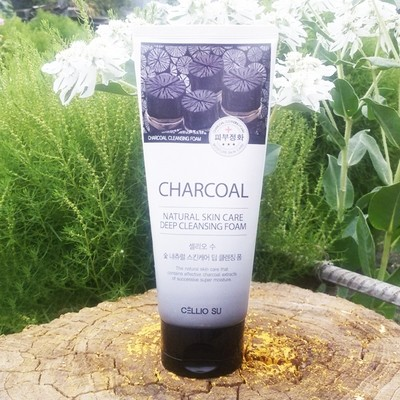 Пенка Cellio Charcoal Natural Skin Care Deep Cleansing Foam (150 мл)