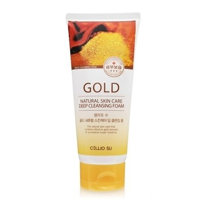 Пенка Cellio Gold Natural Skin Care Deep Cleansing Foam (150 мл)