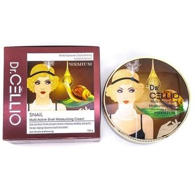 Мультиактивированный увлажняющий улиточный крем Dr.Cellio Premium Multi-Active Snail Moisturizing Cream (100 мл)