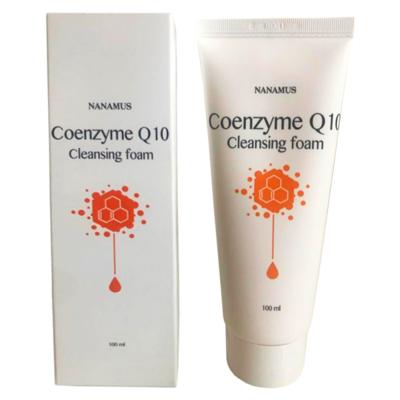 Очищающая пенка Nanamus Coenzyme Q10 Foam Cleansing (100 мл)