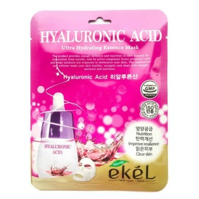 Тканевая маска Ekel Hyaluronic Acid Ultra Hydrating Essence Mask (20 мл)