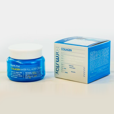 Увлажняющий крем с коллагеном FarmStay Collagen Water Full Moist Cream (100 мл)