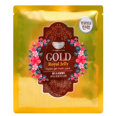 Маска-гидрогелевая с маточным молочком Koelf Gold & Royal Jelly Hydro Gel Mask Pack (30 мл)