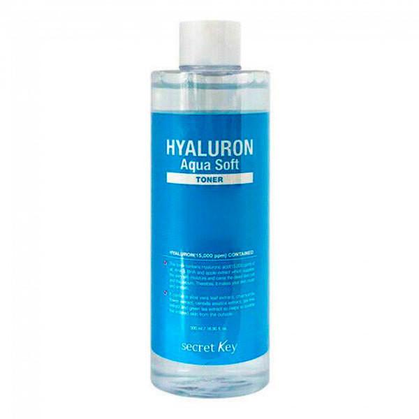 Тонер с гиалуроновой кислотой Secret key Hyaluron Soft Toner (500 мл)